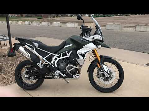 2020 Triumph Tiger 900 Rally Pro in Belle Plaine, Minnesota - Video 1