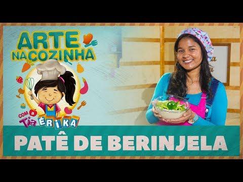 PATÊ DE BERINJELA | Arte na cozinha com a Tia Érika