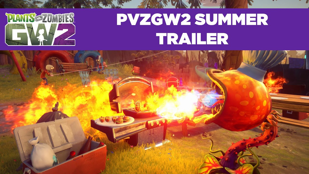 Plants Vs Zombies Garden Warfare 2 Summer Trailer System