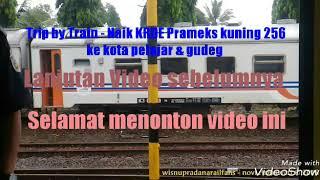 preview picture of video 'Trip by Train - Naik KRDE Prameks kuning ke Jogja | Datang Pergi Jenar tp gagal rekam papasan (Pt 2)'