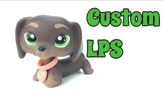 LPS Custom Dachshund ~MajesticPets~