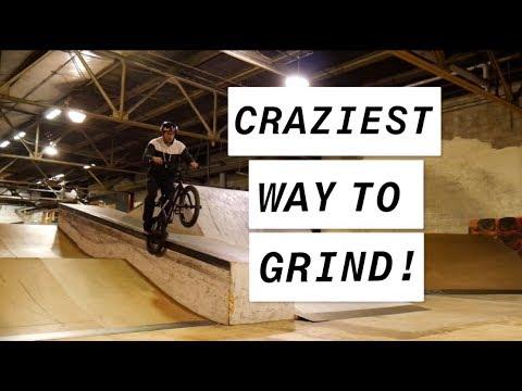 CRAZIEST BMX GRIND! (PENNSKATE SKATEPARK)