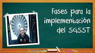Fases de implementación del SGSST