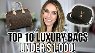 TOP 10 BEST LUXURY DESIGNER BAGS UNDER $1,000 | Shea Whitney
