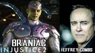 Injustice 2 - Characters and Voice Actors! (Full Cast)