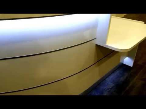Weiße Ladentheke mit Beleuchtung LED günstig und modern
