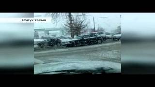 preview picture of video 'Өрүк гүлдөгөндө Ош шаарына кар жаады 30.03.15'
