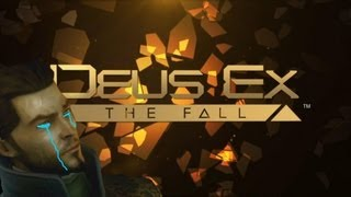 Deus Ex: The Fall анонс игры года