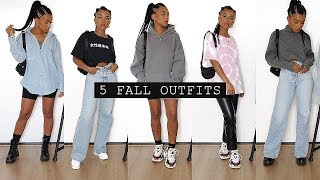 5 Fall Outfits (for School)