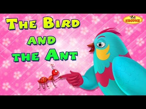 The Bird And The Ant | English Short Stories For Children | KidsOne