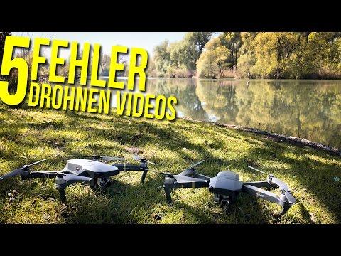 5 Drohnen Anfängerfehler   cinematische Videos 📸 FOTOGRAFIE VLOG DEUTSCH