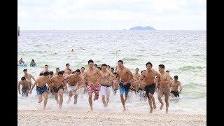 Mister Supranational Thailand ซิกแพ็คแน่นๆหนุ่มๆหล่อๆ77จังหวัด ชุดว่ายน้ำที่ เกาะล้าน