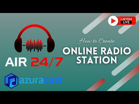 How to Create Online Radio Stations Free with Azuracast Web Radio Broadcasting Software   Part 1