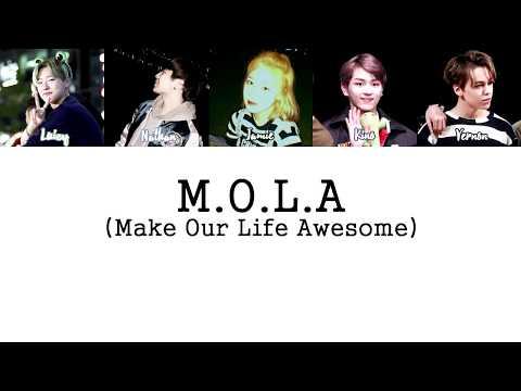 M.O.L.A - Chillin' (Remix) (Extended Ver.) LYRICS [HAN ROM ENG]