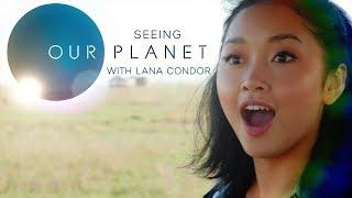 Lana Condor's African Safari Video Diary | Our Planet | Netflix