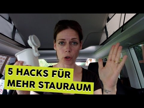 5 IKEA Hacks für mehr Stauraum & Ordnung im Bulli | OHNE BOHREN ODER KLEBEN