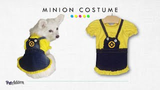 diy minion dog costume
