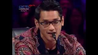 Afgan Nyanyi Lagu Dangdut Di X-Factor Indonesia