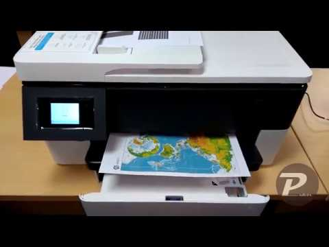 HP OfficeJet Pro 7720 (Wi-Fi, Ink, Colour, Duplex printing)