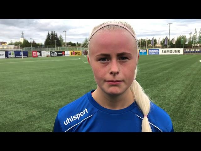 Jasmín Erla: Erum að stíga upp