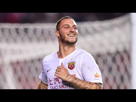 Arnautovic first goal in China! Chongqing Lifan VS Shanghai SIPG 21/7/2019