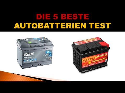 Beste Autobatterien Test 2019