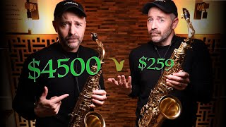 Can You Hear the Difference Between Cheap and Expensive Saxophones?