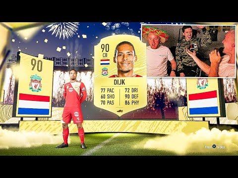 VAN DIJK IN A PACK!! INSANE FIFA 20 PACK OPENING!!