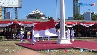 Upacara Peringatan HUT ke-73 RI di Simpang Lima Semarang