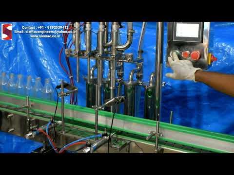 Liquid Soap Filling Machine In Bottle