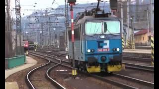preview picture of video 'Děčín hlavní nádraží 11.02.2014'