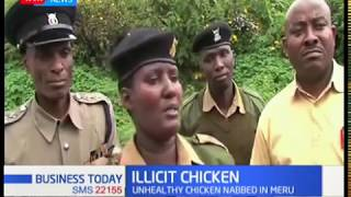 Meru police arrest illicit chicken traders