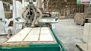MÁY CNC ROUTER NESTING 4 Đầu Holztek tại Cty prapexco Nha Trang
