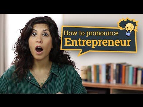 mp4 Entrepreneur Pronunciation In English, download Entrepreneur Pronunciation In English video klip Entrepreneur Pronunciation In English