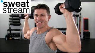 30 Minute Strength Training Workout w/ Relentless Jake by SweatStreamTV