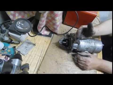 техническое обслуживание и ремонт стартера автомобиля газель
