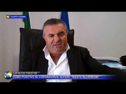 """Uomo positivo al coronavirus, Alfieri: """"niente allarmismi"""""""