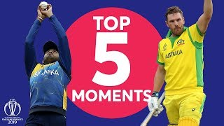 Udana Throws Down! | Sri Lanka vs Australia - Top 5 Moments | ICC Cricket World Cup 2019