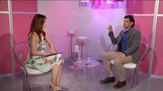 Lukáš Rossbach (tricholog Kapyderm) - host v TV Metropol - o vlasech a vlasové pokožce
