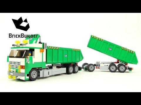 Vidéo LEGO City 7998 : Le camion benne