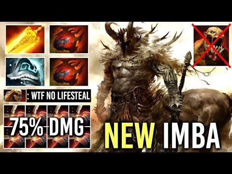 NEW RAID BOSS BUILD 7.19 Radiance Centaur Mid 75% Damage Return Epic Gameplay Dota 2