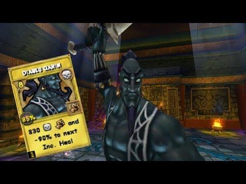 Wizard101 New Fable Lord Treasure card spell - смотреть