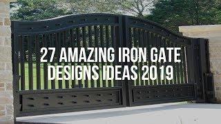 🔴 27 Amazing IRON GATE DESIGNS Ideas 2019