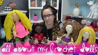 All About My Crochet Dolls