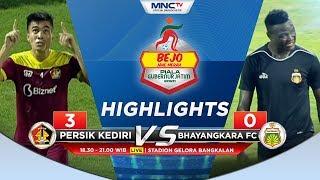 HIGHLIGHTS PERSIK VS BHAYANGKARA FC (FT: 3-0) - Bejo Jahe Berah Piala Gubernur Jatim 2020