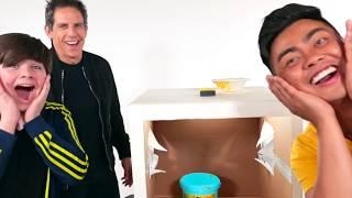 WHAT'S IN THE BOX CHALLENGE (ft. Quin & Ben Stiller)