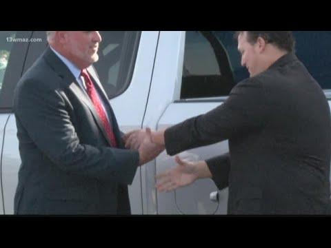 Purple Heart veteran given new truck