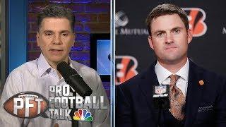 New Bengals coach Zac Taylor details plan for team, Andy Dalton | Pro Football Talk | NBC Sports