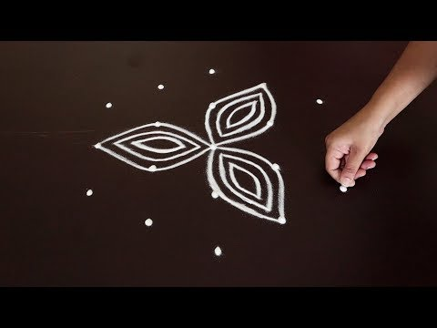 2019 Diwali Rangoli Design | Diya Rangoli For Diwali | Deepam Muggulu | Vilakku Kolam For Deepavali