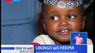 Mtoto Chantel Minayo anawiri masomoni ana kumbukizi kuhusu magavana